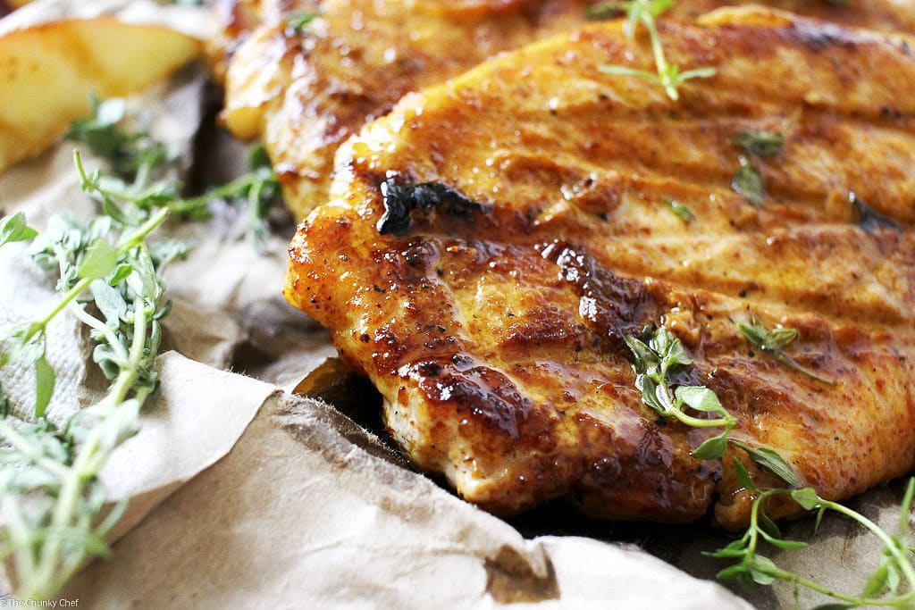 Be prepared to have this be your new favorite way to have pork chops ...