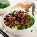 Crispy Spicy Peanut Tofu Stir Fry