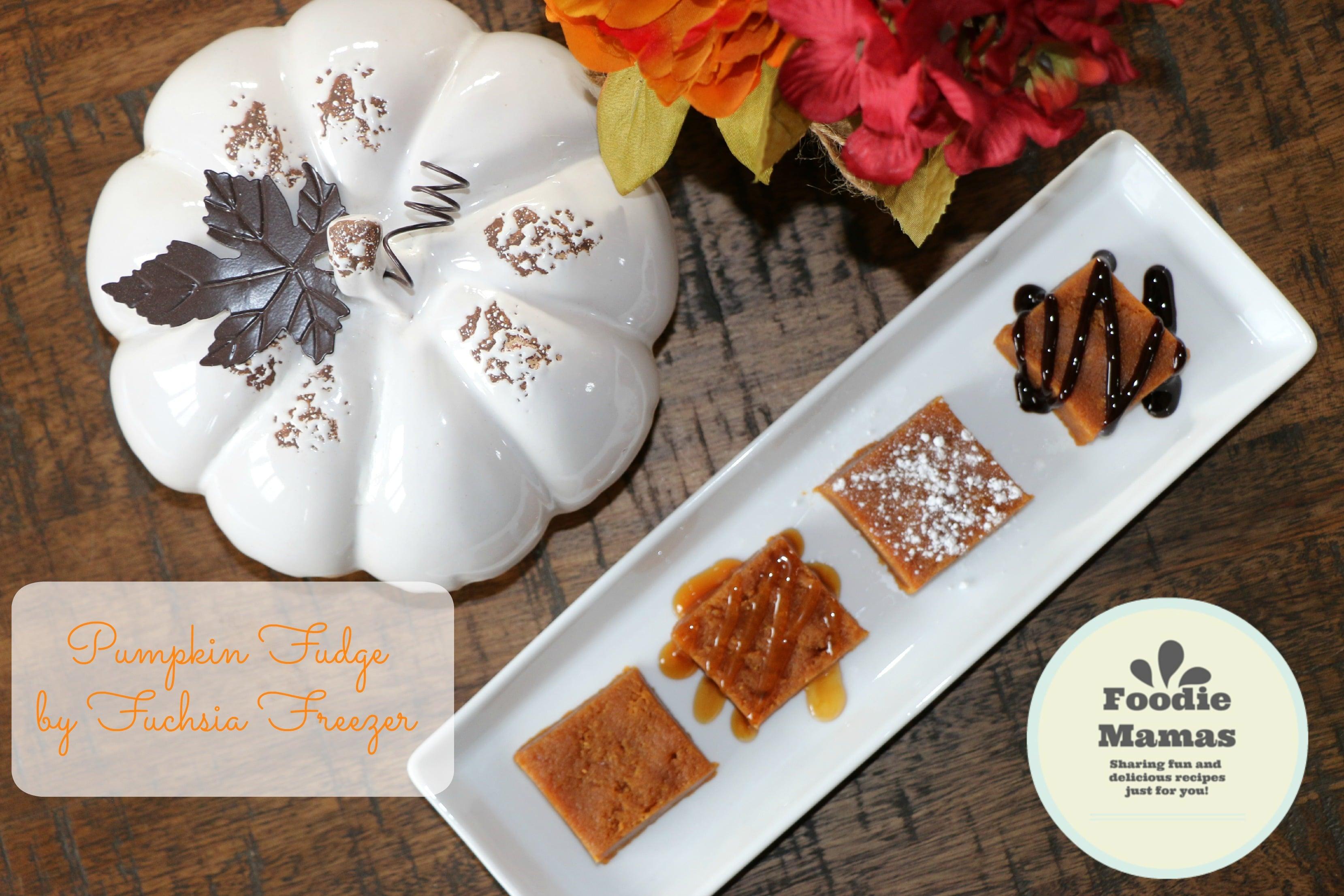 Pumpkin Fudge - Fuchsia Freezer