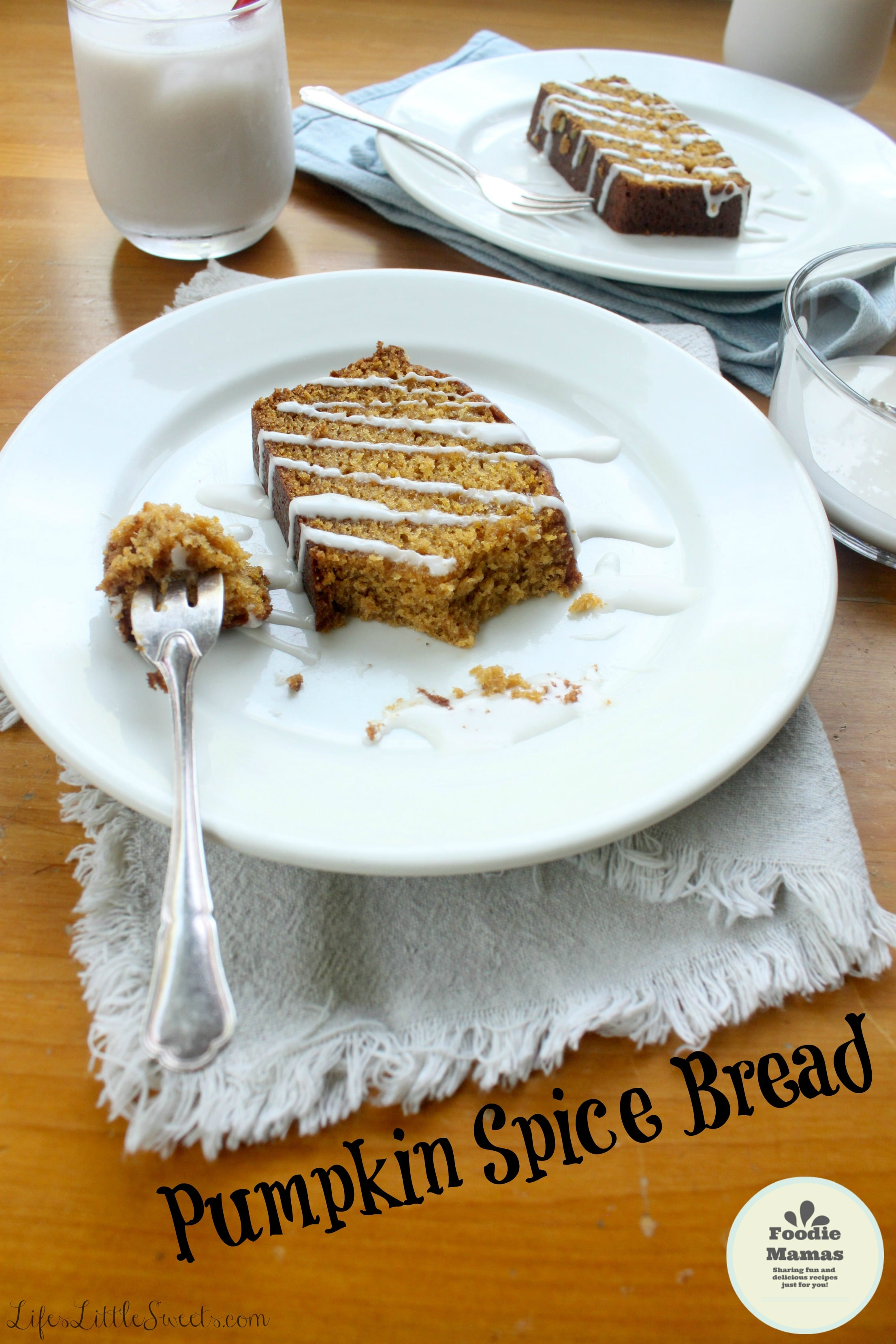 Pumpkin Spice Bread - Life's Little Sweets