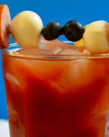 Watch your favorite football rivalry while sipping a delicious and smooth bloody mary cocktail!