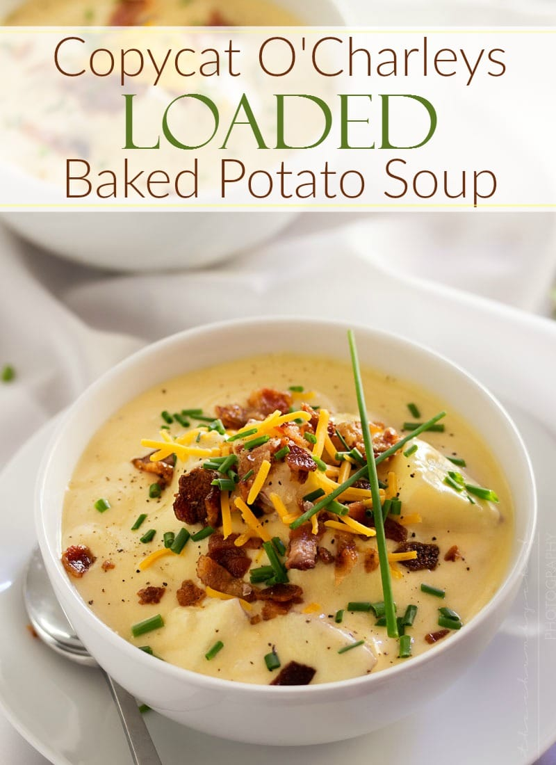 bacon creamy potato soup with bacon vinaigrette creamy potato soup ...