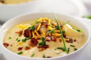 Copycat Loaded Baked Potato Soup (7) - The Chunky Chef