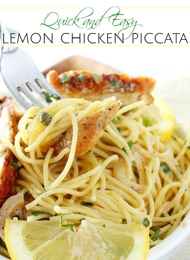 Lemon Chicken Piccata with Shallots and Basil-16-PIN