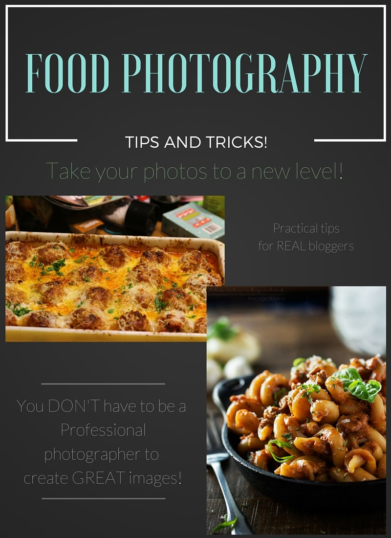 A collection of tips and tricks, as well as equipment and book recommendations to help you up your food photography game!