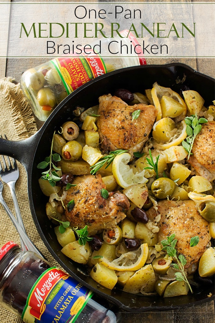 One-Pan Mediterranean Braised Chicken with Olives - The ...
