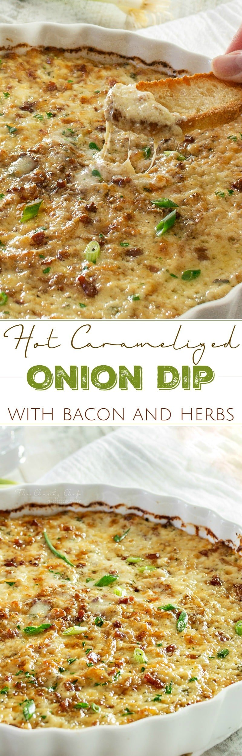 Caramelized Onion Dip | The ultimate party dip! This onion dip is made ...