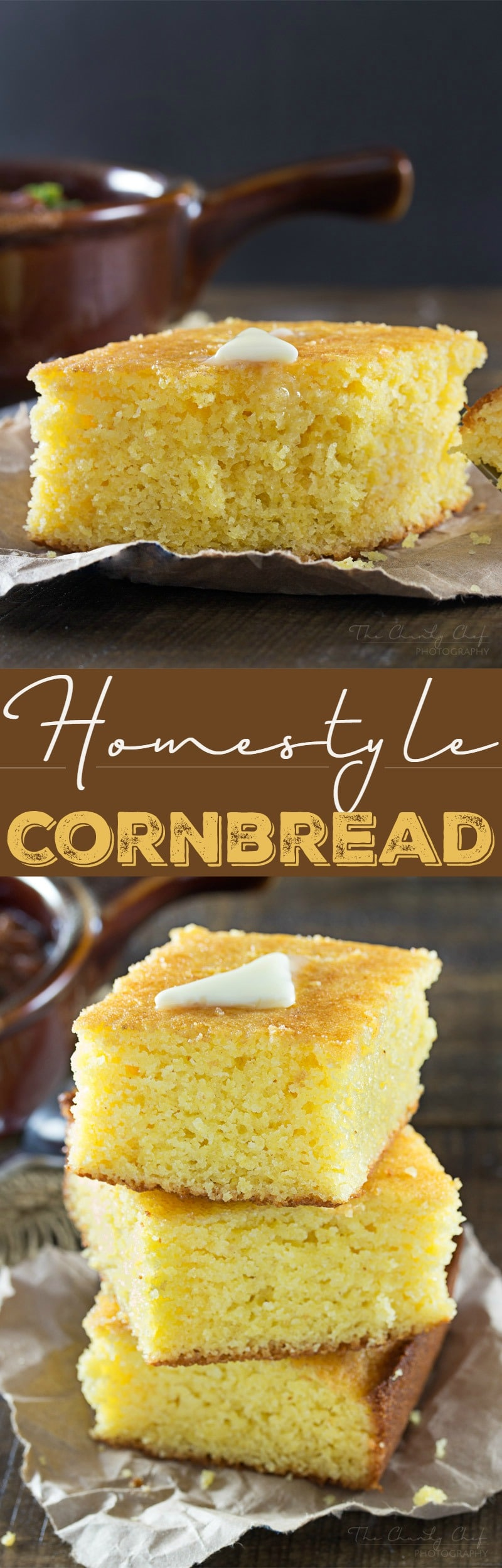 Homestyle Cornbread The Chunky Chef