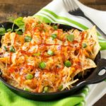 Oven Baked BBQ Chicken Pizza Nachos