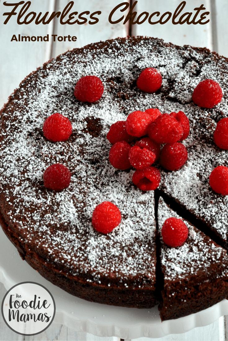 Flourless Chocolate Almond Torte - Cooking Curries - Gluten Free ...