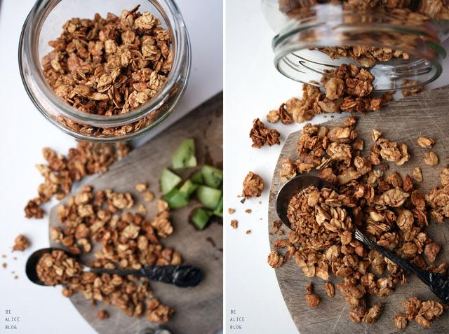 Maple Nut Granola 01