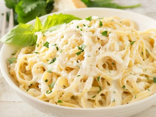 Roasted Garlic Cream Sauce The Chunky Chef