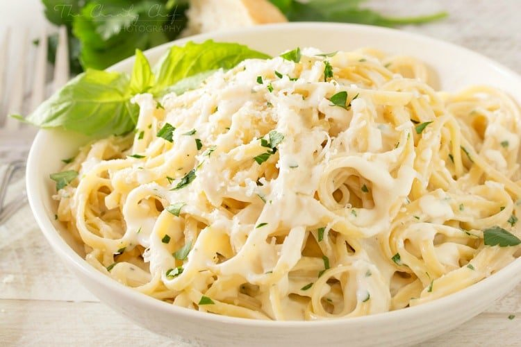 Roasted Garlic Cream Sauce