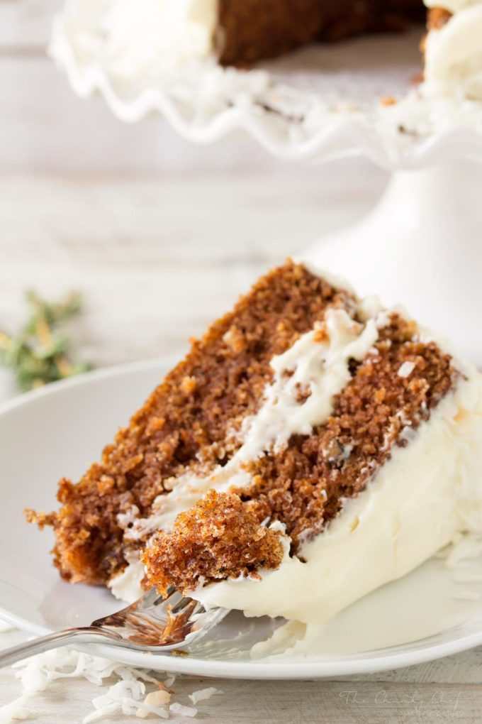 Marsha S Outrageous Carrot Cake The Chunky Chef