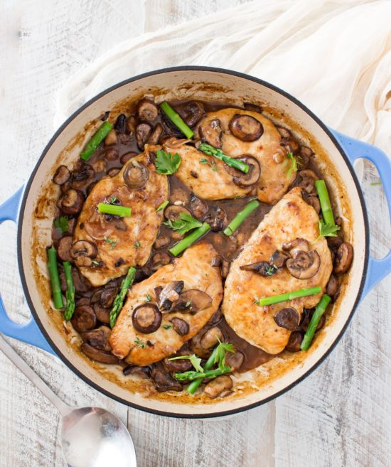 This Easy Chicken Marsala Dish