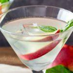 Peach-Basil Margaritas Recipe