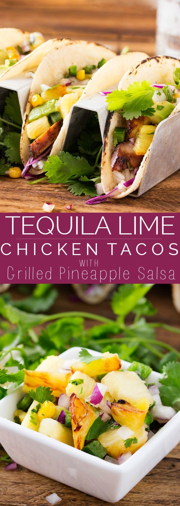 Tequila Lime Chicken Tacos | Tender, juicy, tequila lime chicken is ...