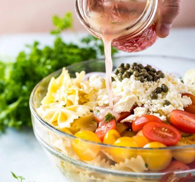 Best Potluck Pasta Salad (Award-Winning!) - The Chunky Chef
