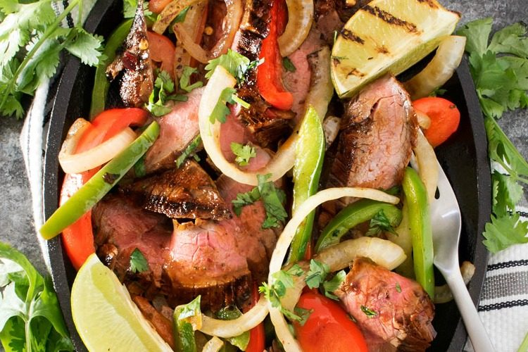 Mouthwatering Carne Asada Steak Fajitas