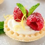 Mini No Bake White Chocolate Lemon Cheesecake Tarts