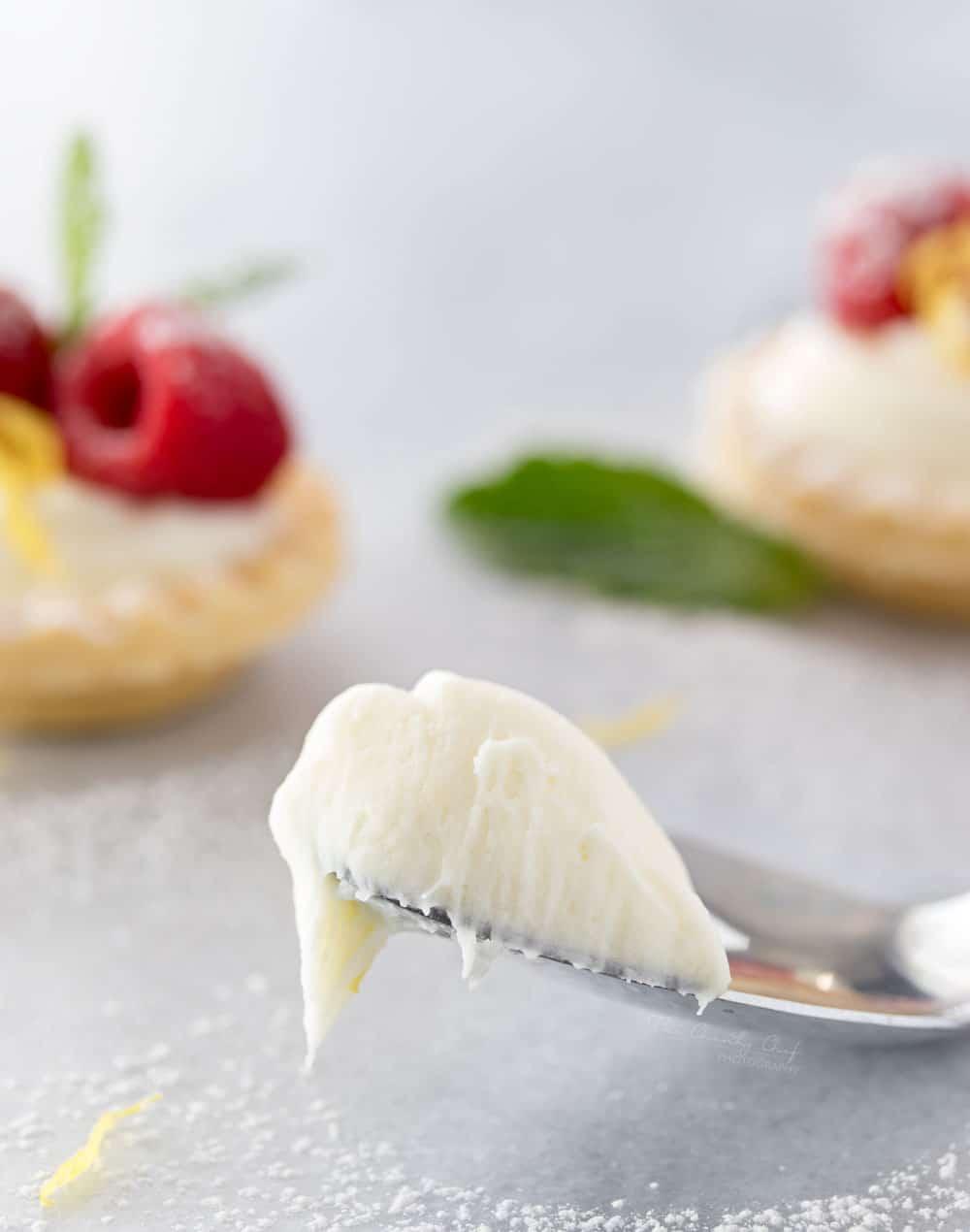 mini no bake white chocolate lemon cheesecake tarts the