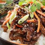 30 Minute Spicy Ginger Szechuan Beef