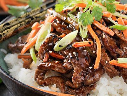 30 Minute Spicy Ginger Szechuan Beef