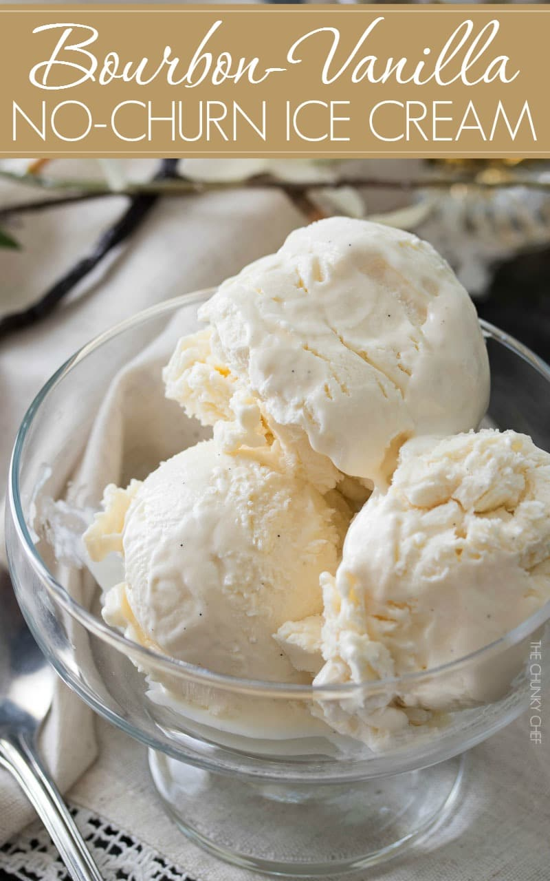 Double Vanilla Bourbon Ice Cream Recipe — Dishmaps