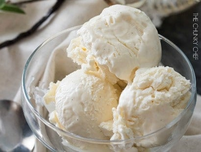 Bourbon Vanilla No Churn Ice Cream
