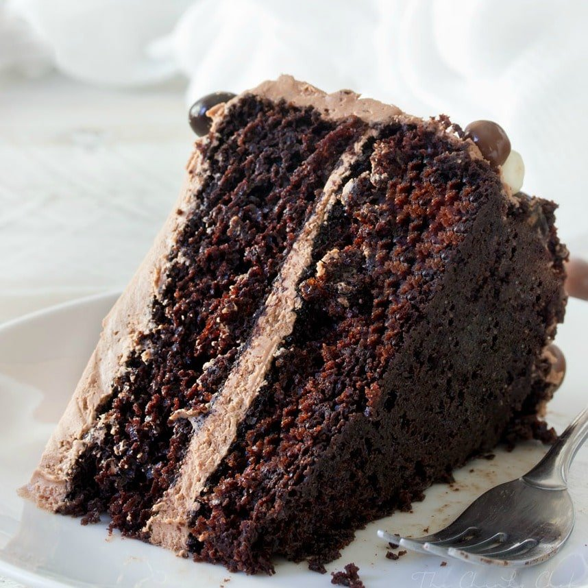 """paperseed buttermilk chocolate cake """"perfectly chocolate"""" chocolate cake the number one recipe on our site, this quick and easy chocolate cake will please even the toughest crowd."""