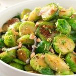 Brussels Sprouts with Toasted Hazelnut Butter