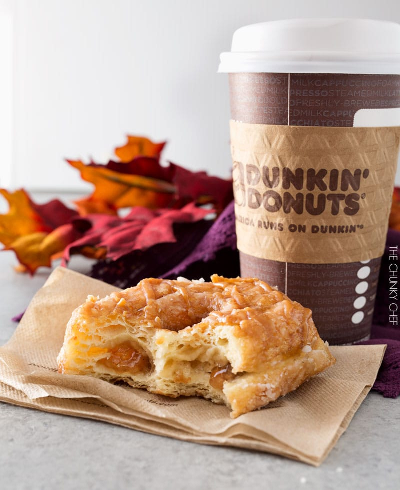 Favorite Fall Donut and a Giveaway! - The Chunky Chef