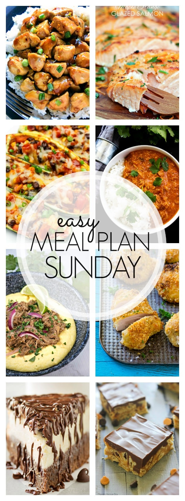 Easy Meal Plan Sunday - Week 80