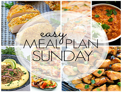 Easy Meal Plan Sunday (Week 80)