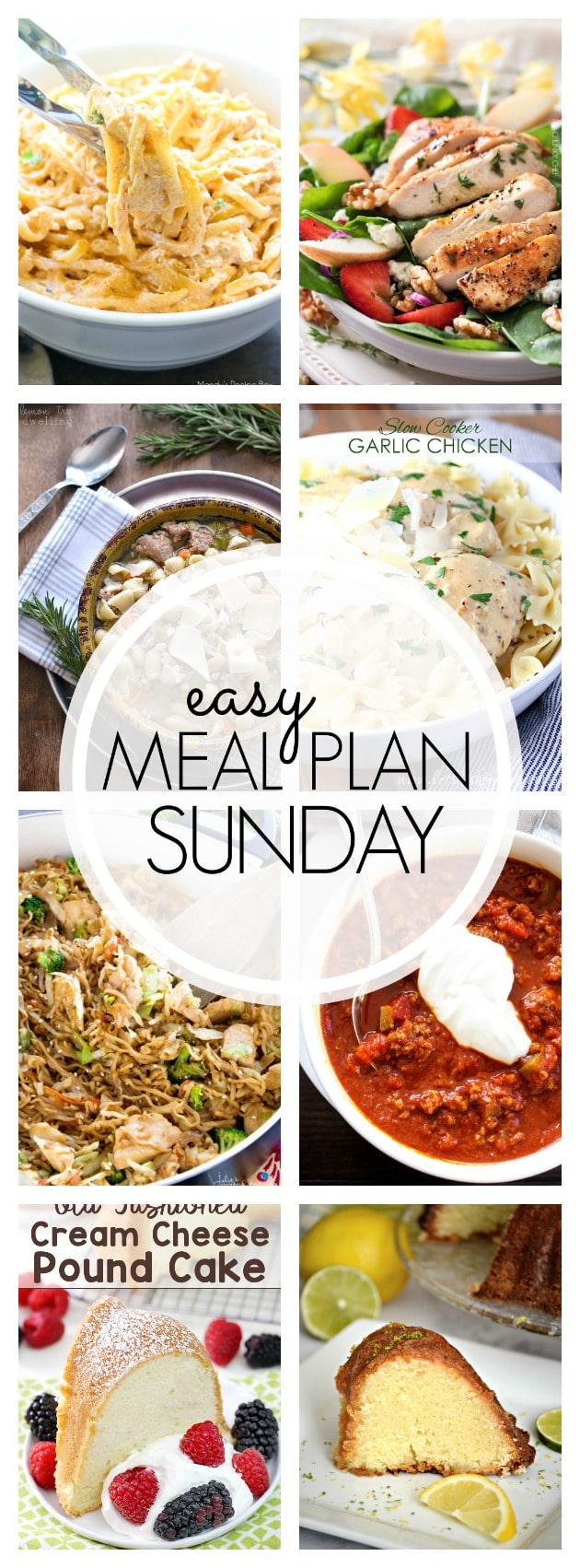 Easy Meal Plan Sunday - Week 82