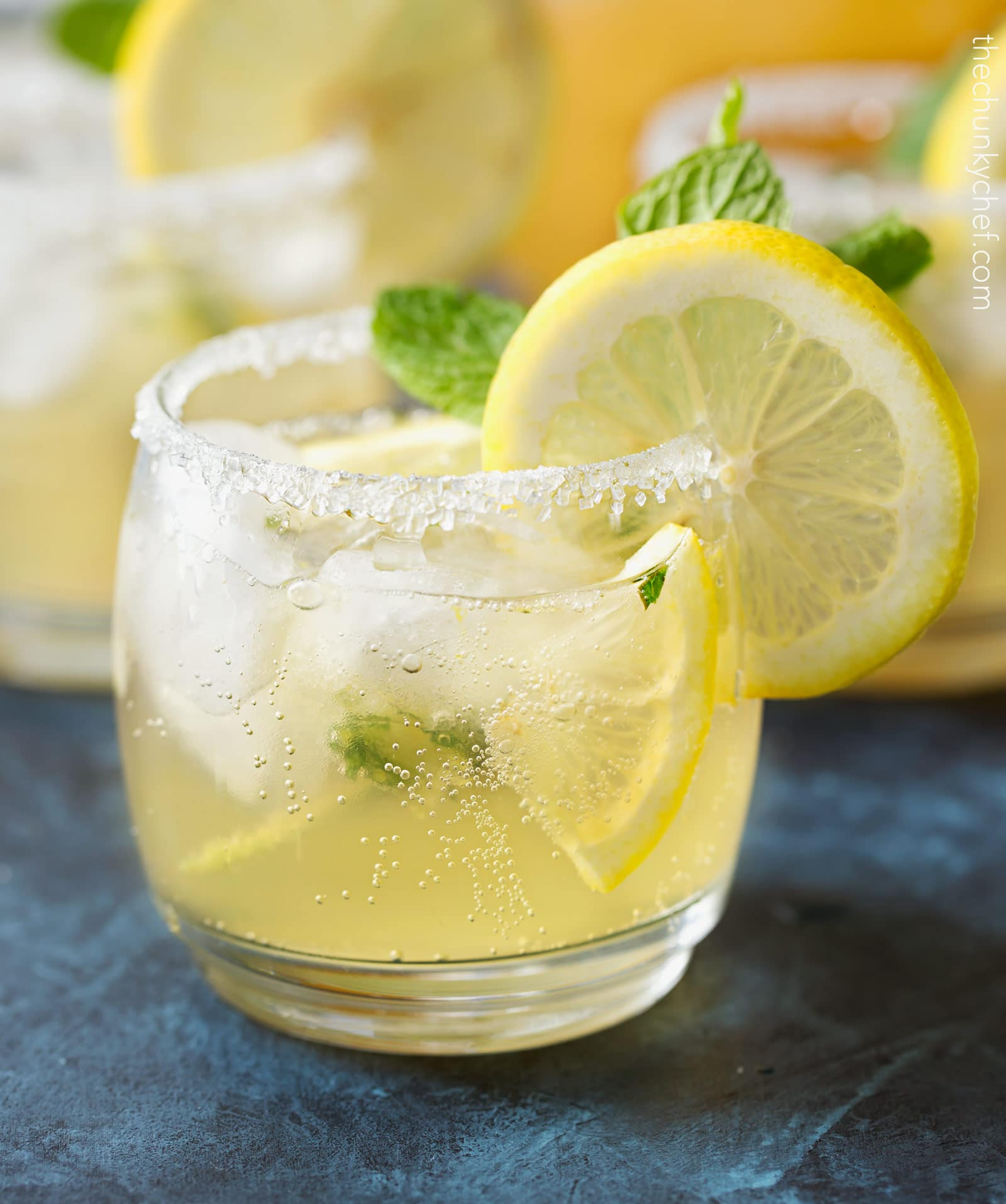 Refreshing Kentucky Lemonade Cocktail - The Chunky Chef