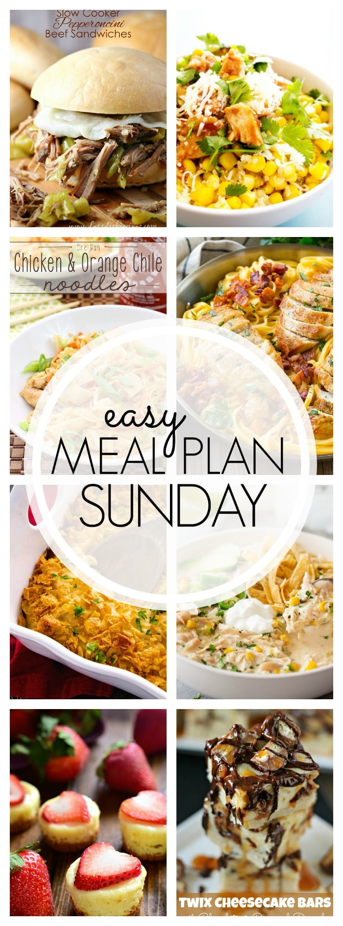 Easy Meal Plan Sunday - Week 87