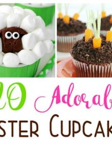 20 Easter Cupcakes | These adorable Easter-themed cupcakes are sure to be the highlight of any holiday party! | http://thechunkychef.com