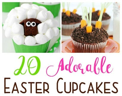 20 Adorable Easter Cupcakes