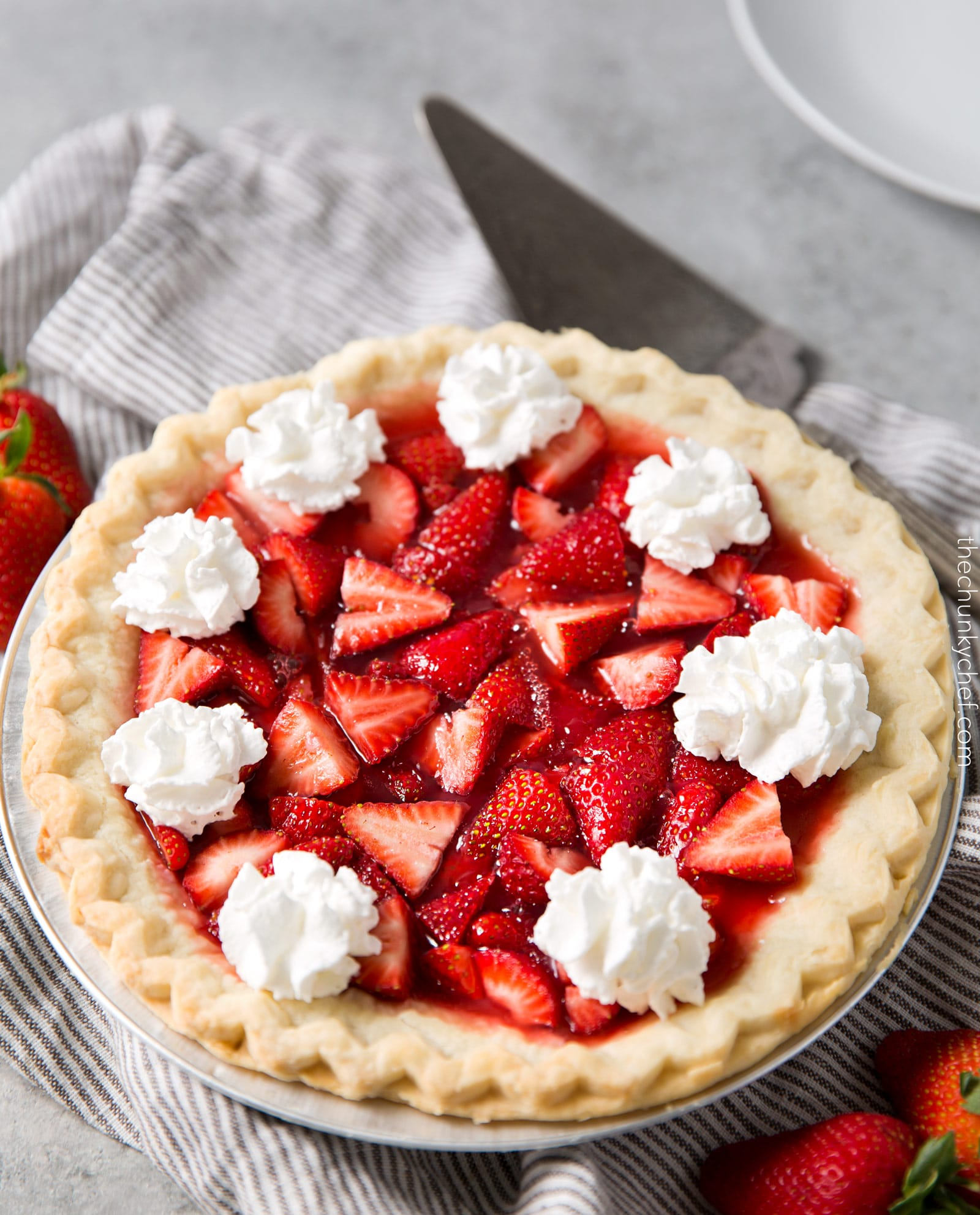 Frozen Strawberry Cream Pie is absolutely delicious and a snap to put together. Another plus is, it's a freezer pie, you can make it, throw it into the freeze a couple of days before you need it and pull it out.