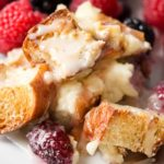 Mixed Berry Overnight Croissant Breakfast Bake