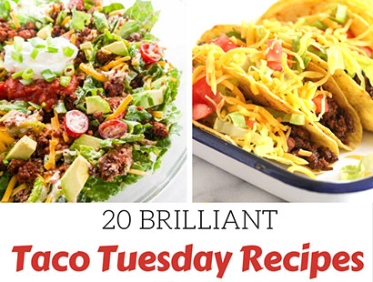 20 Fantastic Recipes for Taco Tuesday