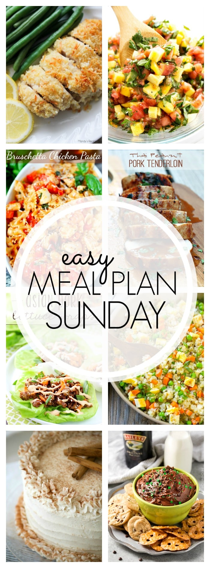 Easy Meal Plan Sunday - Week 92