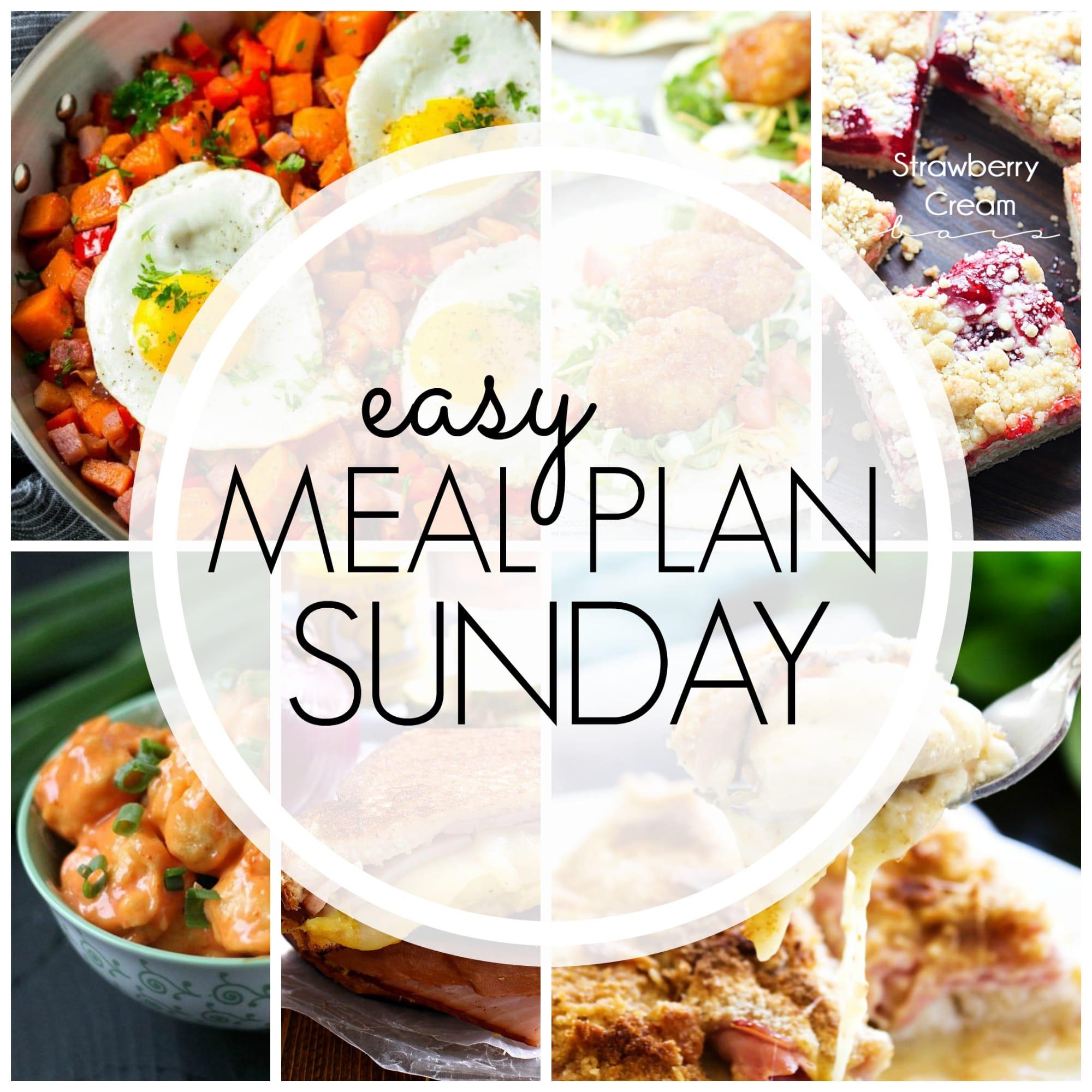 Easy Meal Plan Sunday - Week 94