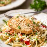 Chicken and Bacon Alfredo with Kroger's Prep + Pared