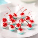 Cola Soaked Firecracker Cherries