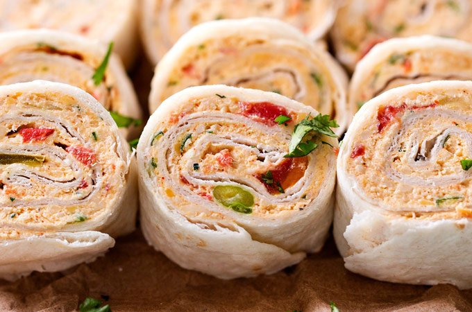 Chicken Taco Mexican Pinwheels The Chunky Chef