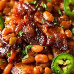 Spicy Baked Beans with Bacon