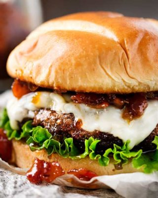 featured image for bacon cheeseburgers
