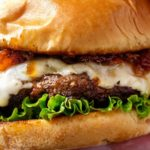 Cheeseburgers with Bourbon Bacon Jam